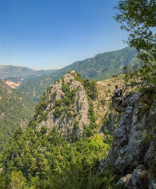 I usually walk from Chouwen to get to the lake. A nice trail for around 45... (Jannah, Mont-Liban, Lebanon)