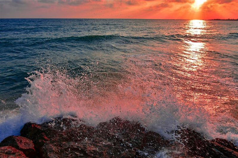 Waves are inspiring not because they rise and fall, but because each time... (Rest House Tyr Hotel & Resort)