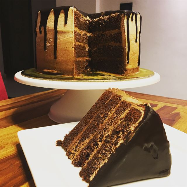 Who Said Wednesdays Are Boring? Try It With The Ultimate Chocolate Cake!.... (Beirut, Lebanon)
