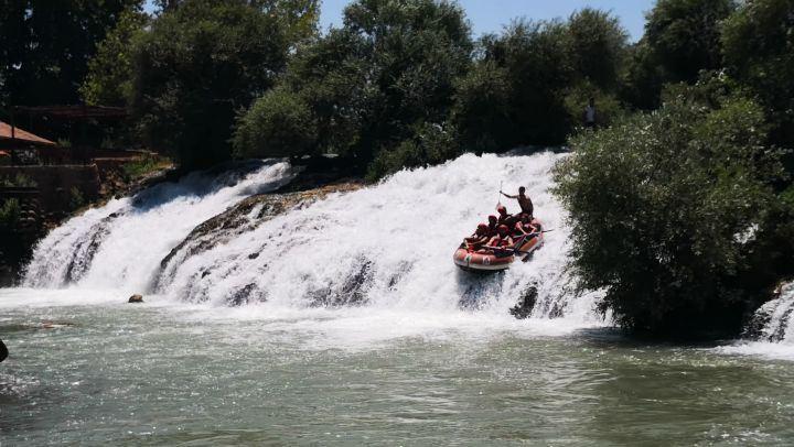 Rafting AssiRiver Waterfall Hermel Bekaa Lebanon@livelove.sports @li (Al Assi River-Hermel, Lebanon)