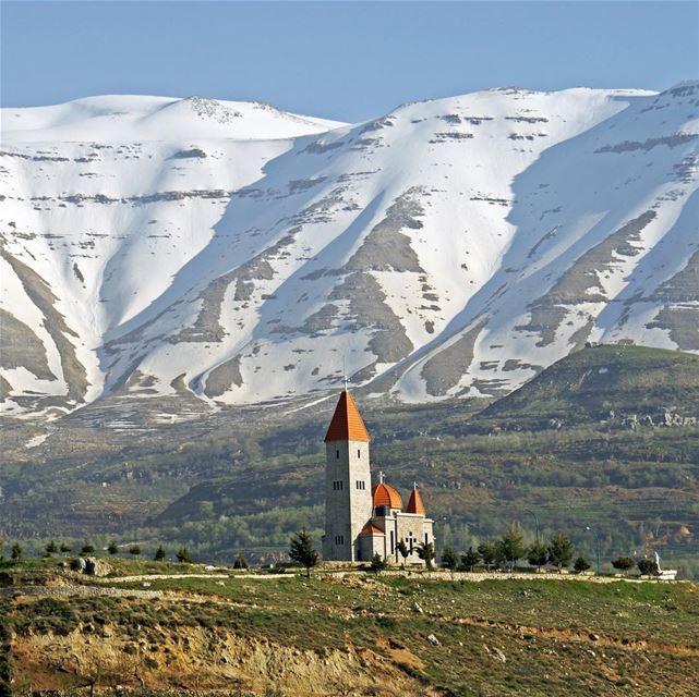 O Líbano é um dos berços do Cristianismo. Foi lá que Jesus realizou seu... (Bcharré, Liban-Nord, Lebanon)