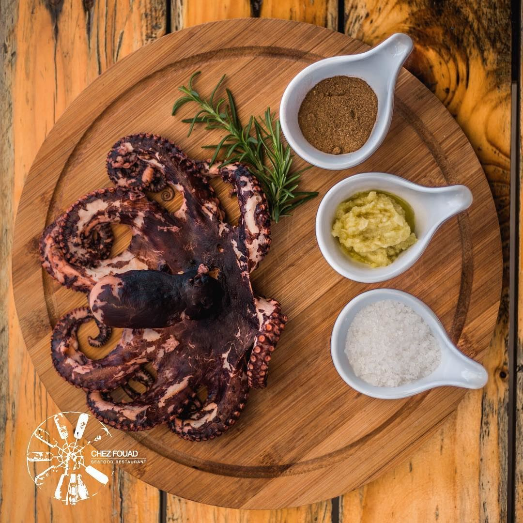 Exquisite Taste 🐙-- seafoodrestaurant chezfouad restaurant seafood ... (Chez Fouad)