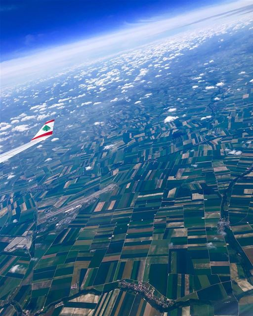 All you have to do ..is fly viewfromthetop airplanewindowview lebanonflag🇱