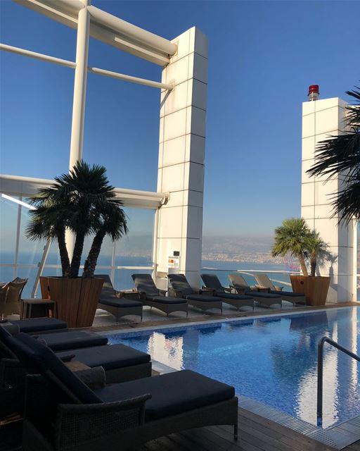 O luxuoso hotel Four Seasons de Beirute, conquistou o prêmio de Melhor... (Four Seasons Hotel Beirut)