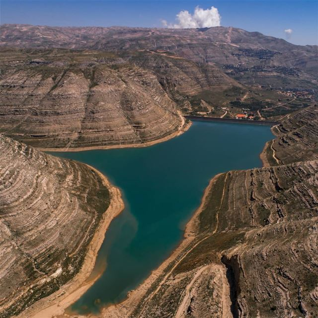 Chabrouh Dam from a new angle .... AboveLebanon  Lebanon ... (Lebanon)