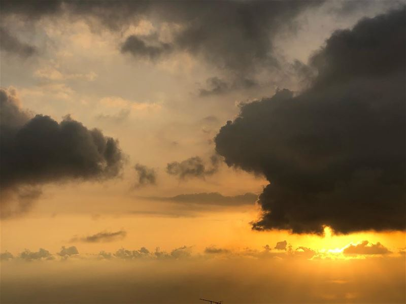 Refocus and recharge.. sunsetlover cloudsky bestview photographylover📸 (Beirut, Lebanon)