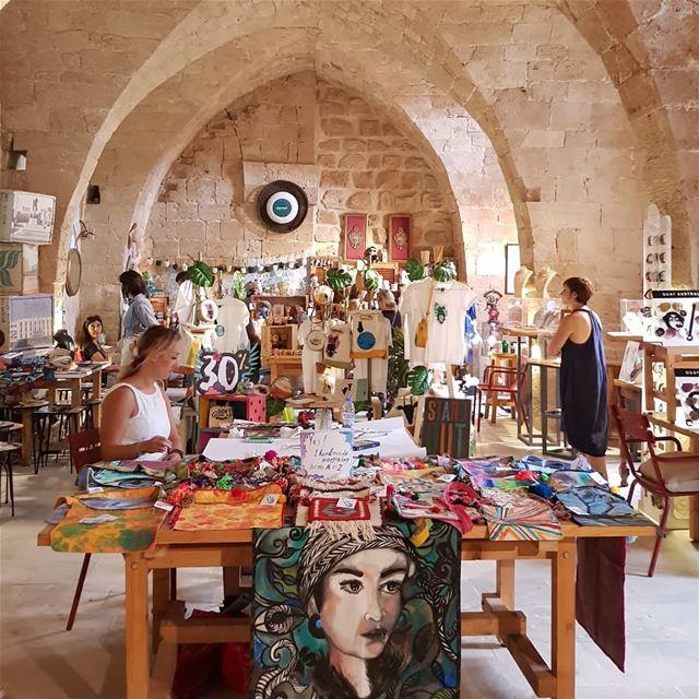 batroun @villaparadisolebanon designers market exhibition البترون_سفرة (Villa Paradiso Batroun)