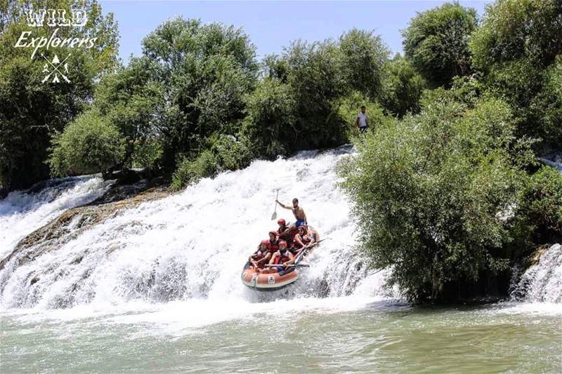 Rafting AssiRiver Hermel Bekaa Lebanon NeverStopExploring @wildexplor (Al Assi River-Hermel, Lebanon)