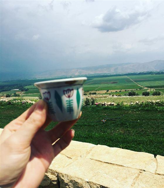 سماع صوتك في الصباح مثل فنجان قهوة كفيل بأن يسعدني اليوم كله...... (Aammiq, Béqaa, Lebanon)