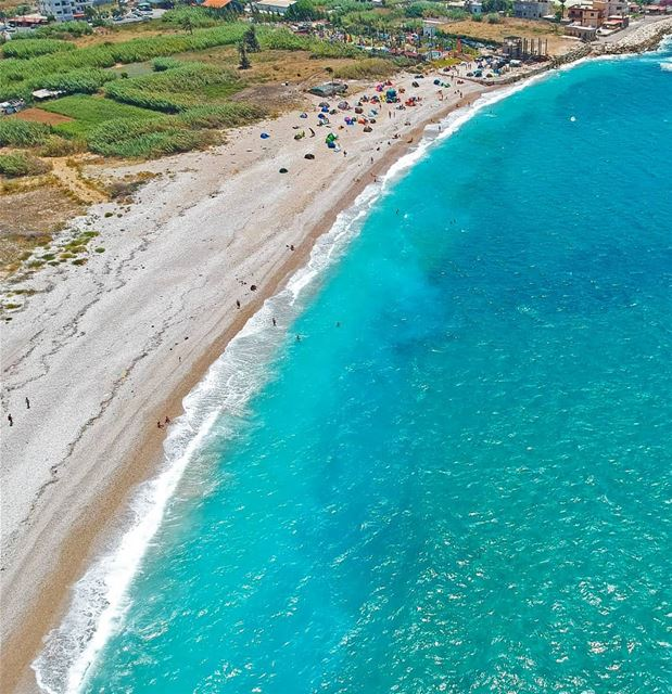 @the.campers at the beach lebanon  sea  batroun  beautiful  summer  blue... (Batroûn)