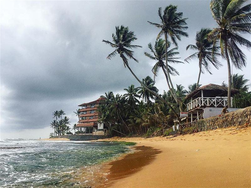 You can never have too much beach 🏝.📍Hikkaduwa, Sri Lanka...━ ━ ━ ━ ━ (Hikkaduwa, Sri Lanka හික්කඩුව)