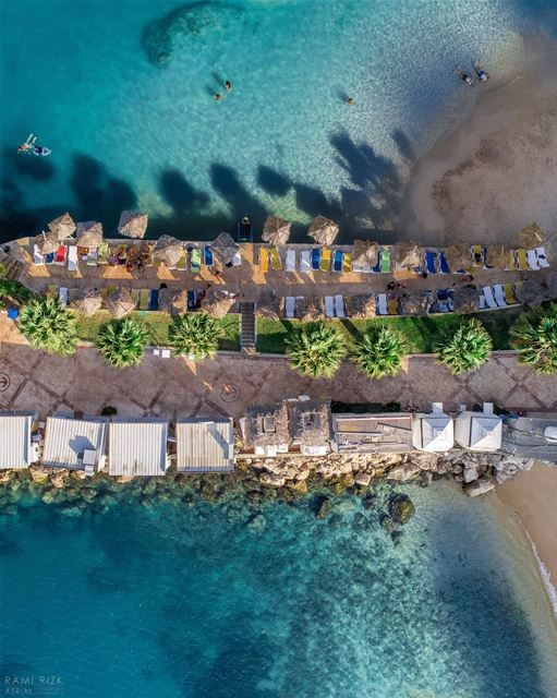 Mini island 🏝️. .. lebanon chekka n northlebanon dji drones ... (Chekka)