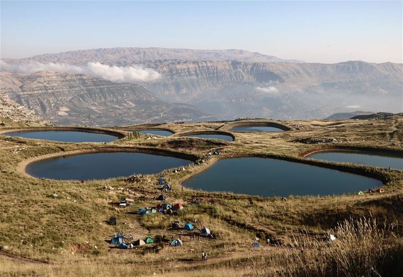 High for these views 🏕 @thehighestevent (El Laqloûq, Mont-Liban, Lebanon)