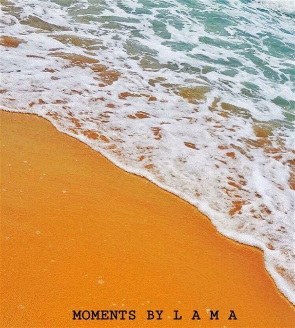 🏖🌊 naturephotography nature ig_lebanon lebanon ptk_lebanon ocean sea... (Ocean Blue)