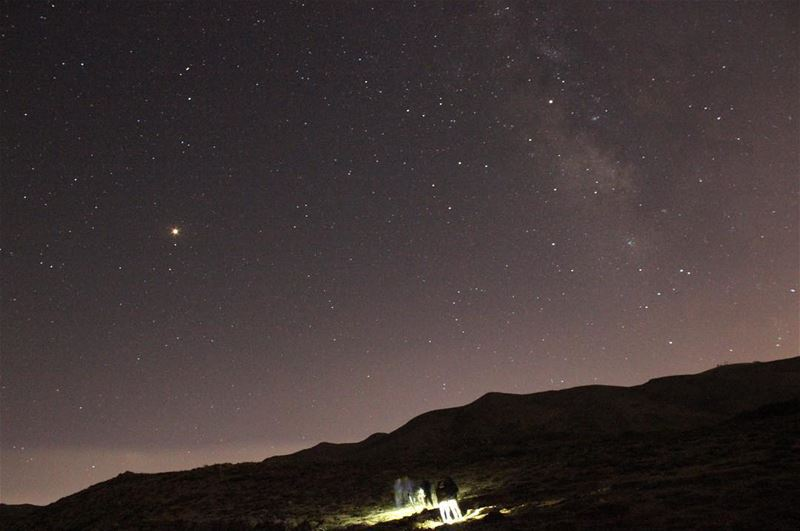 A night under the stars milkyway mars stars sky night outdoors ... (Wardeh Kfardebian)