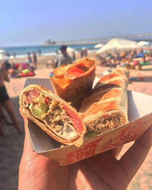 soukelakel food beach summer lebanon ... (El Héri, Liban-Nord, Lebanon)