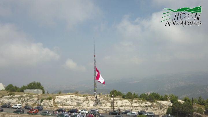 ehden ehdenadventures touficmouawad mayor flag lebanon rip ... (Ehden, Lebanon)