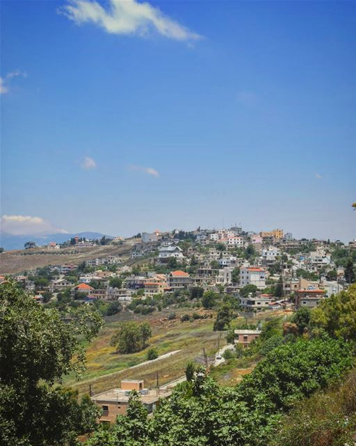 Missing klayaa in summer mylebanon myvillage lebanon ig_lebanon ... (El Qlaïaâ, Al Janub, Lebanon)