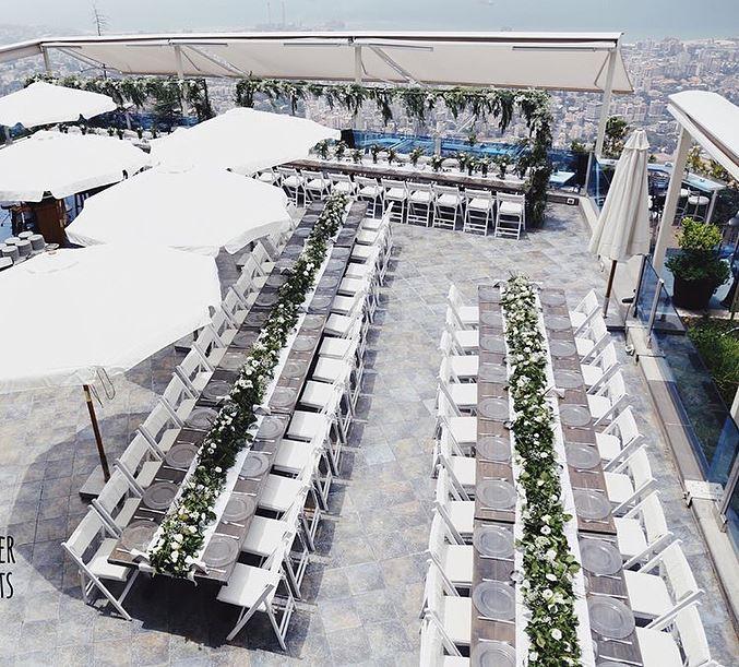 A memorable special event @theterrace_lebanon 💫 Repost @riri_dada @delapat (The Terrace - Restaurant & Bar Lounge)