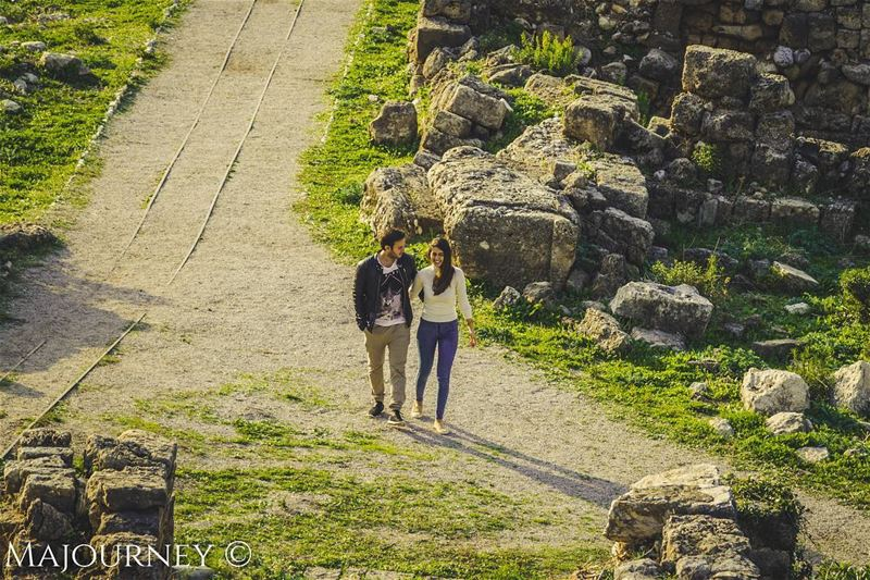 My proposal was here! Where was yours or where will it be ?! 🤵💍👰...... (Jbeil-Byblos)