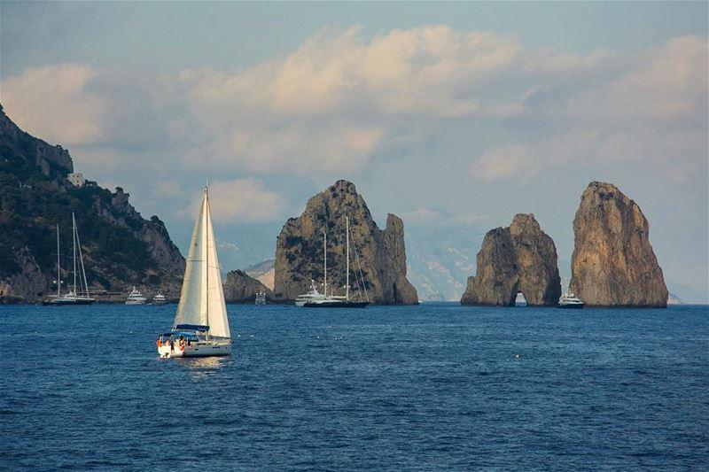Rocks around the clock... capri italy mediterranean cruise travel ...