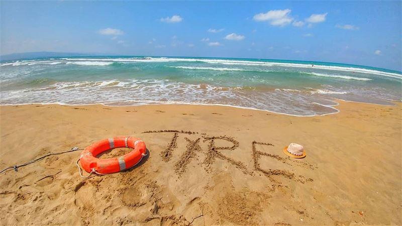For the love of TYRE 💙........ صور صور_مدينة_سياحية tyrepage ... (Tyre, Lebanon)