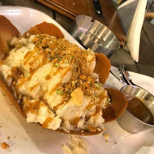 "أم علي 🙊👌🏻..Om Ali. ""This Egyptian dessert contains phyllo dough or... (Rawand)"