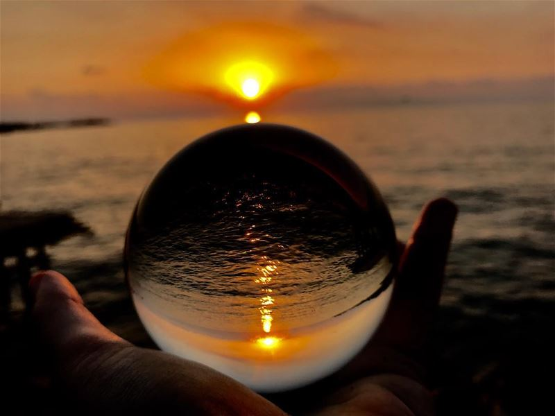 My magical ball ....🌅✨••••••••••••• sunsetview ...