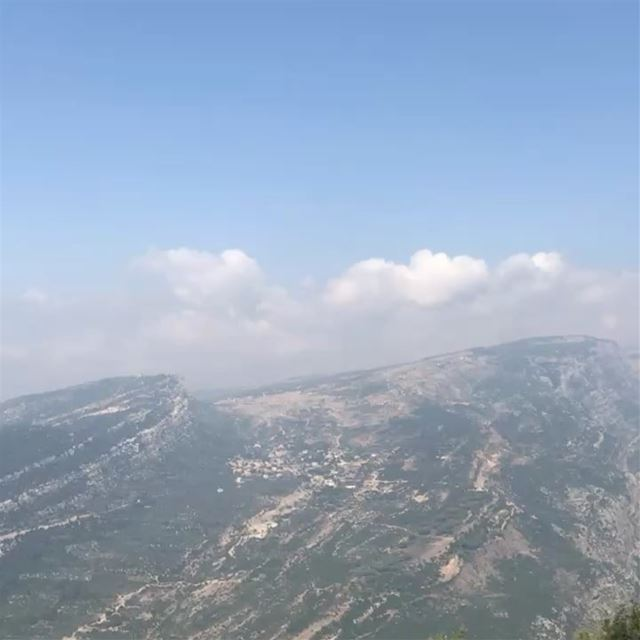 The Peak of Bchaaleh ⛰ where you can see the Batrounian mountain and sea! � (Bchaalé, Liban-Nord, Lebanon)
