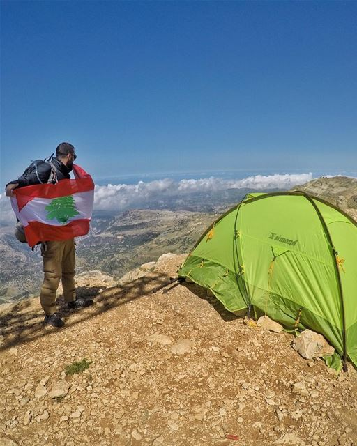 One People, One Nation & One Flag 🇱🇧 ... (Mount Sannine)