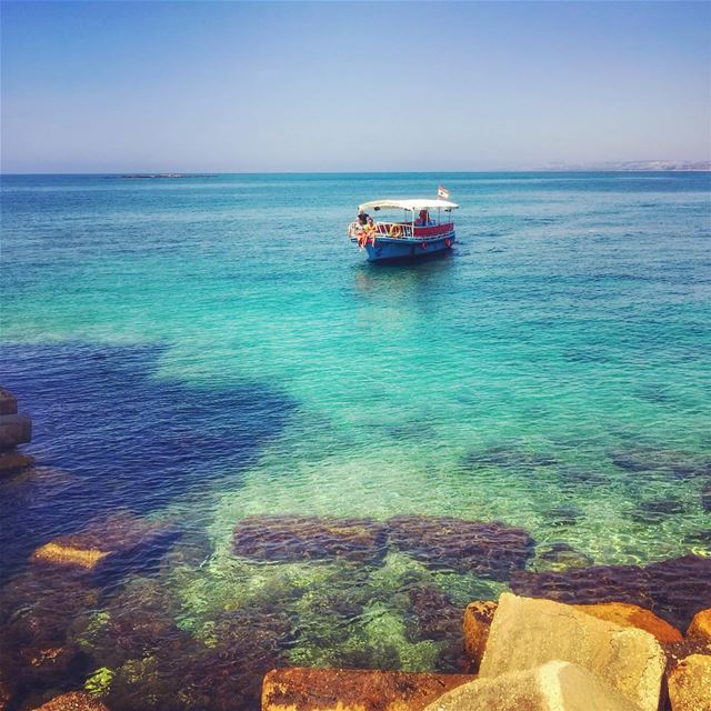 """Man cannot discover new oceans unless he has the courage to lose sight of... (Tyre, Lebanon)"