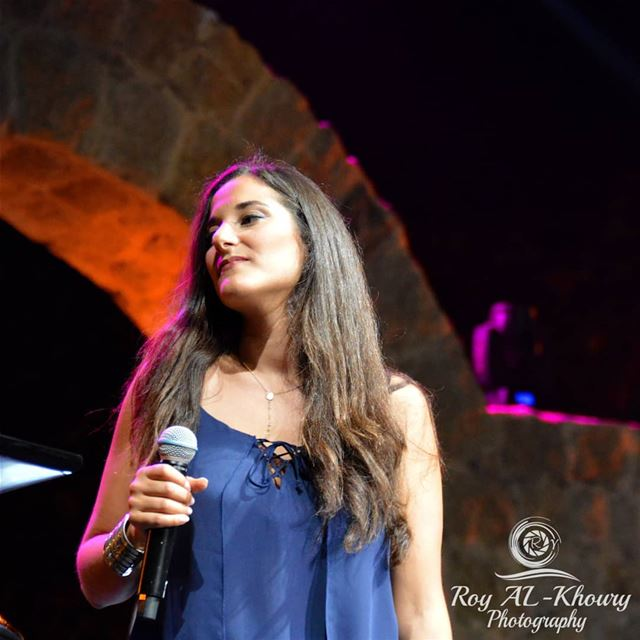 @crysnammour performing at @mikemassy concert RoyALKhouryPhotography ... (Zouk Mikael International Festival)