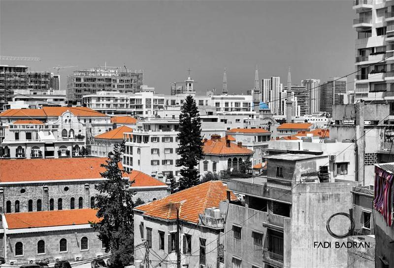 سطوح بيروت ......... travelawesome exploretheglobe ... (Beirut, Lebanon)