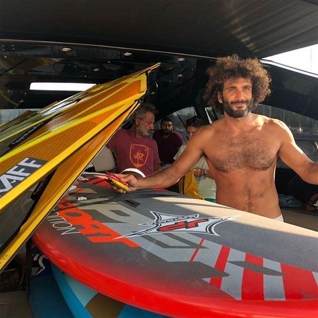Good luck @jadgsn for tomorrow's Cyprus Batroun windsurf challenge.This... (Cyprus)