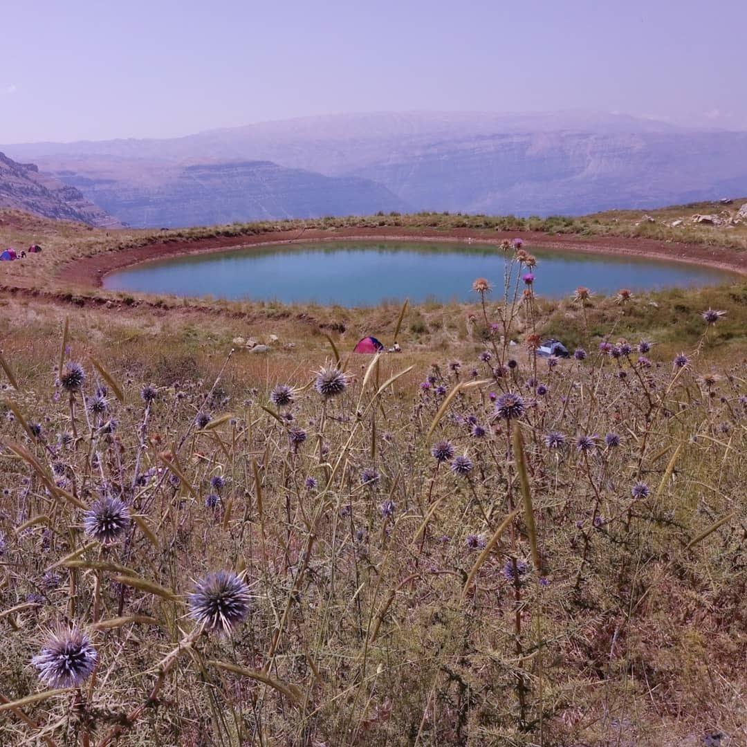 💙💜 lovenature adventure mountains lake akoura ... (Akoura, Mont-Liban, Lebanon)