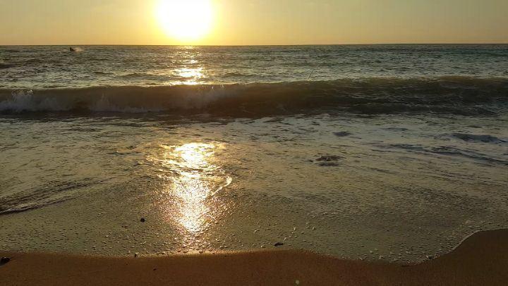 تأمل البحر غروب_الشمس تصويري سبحان_الله ما_شاء_الله الله_اكبر جمال_