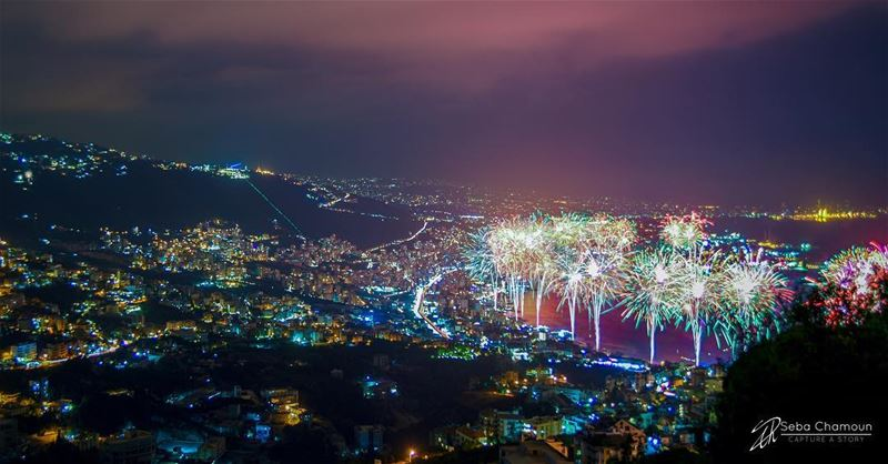 ... and it all starts with  fireworks  sebachamoun  sebachamoun  beiruting...