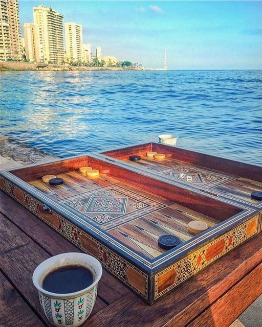 Beirut morning vibes 😍☕️🔆♥️________________________________________... (Beirut, Lebanon)