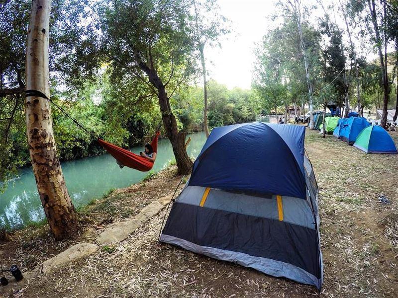 Relaxing weekend assiriver by @marc_cherfan_369 fun raftingtrip ... (El Hermel, Béqaa, Lebanon)