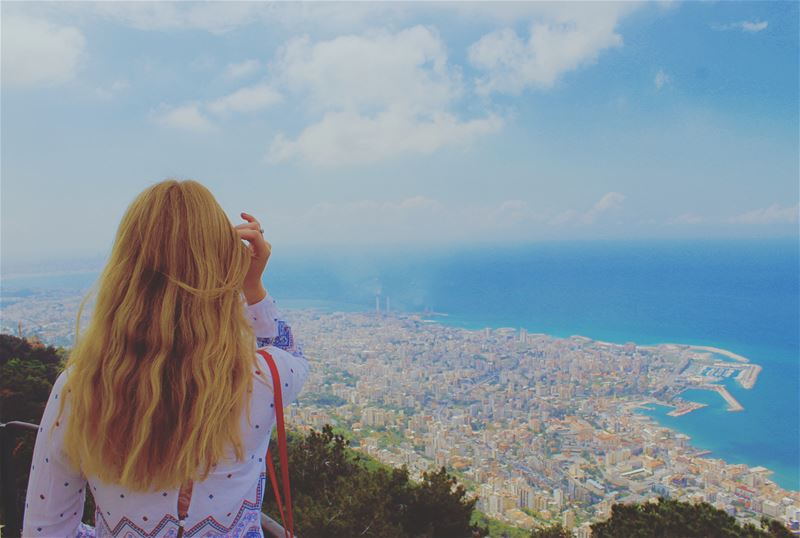 Viewpoint: Lady of Lebanon 💙 visitlebanon lebanontimes adventures ... (Jounieh)