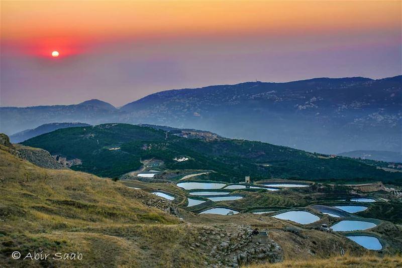 lebanon falougha ponds sunset livelovebeirut insta_lebanon ... (Falougha, Mont-Liban, Lebanon)