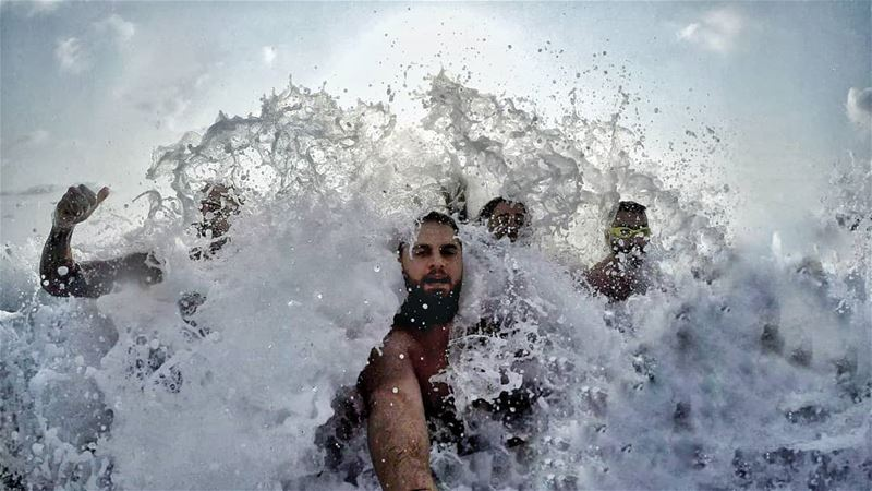 FunDay BigWave WaterSplash CrazyFriends Byblos Jbeil Lebanon... (Byblos - Jbeil)
