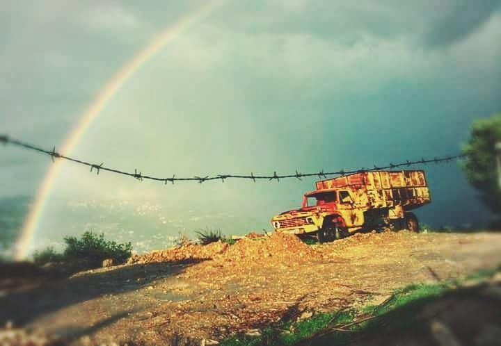 """When it rains look for rainbows. when it's dark, look for stars""... ... (Bikfaïya, Mont-Liban, Lebanon)"