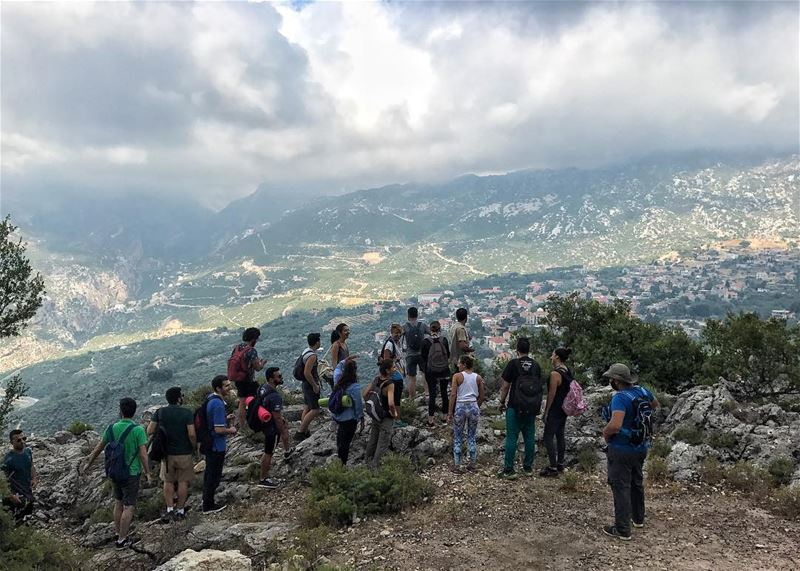 Wonderful view on the top of Douma from our event Bchaaleh Hiking & Yoga... (Bchaalé, Liban-Nord, Lebanon)