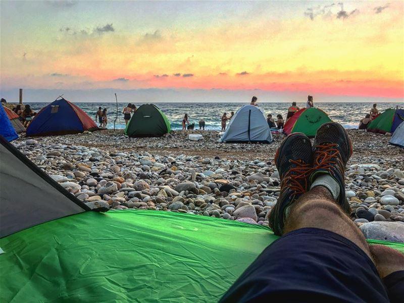 tb camp camping campinglife camper beach beachlife beachcamp nature...