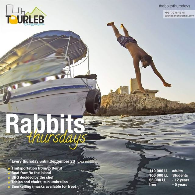 Every thursday a new adventure on the island !! tourleb  tourlebanon ... (Palm Islands Nature Reserve . Office .)