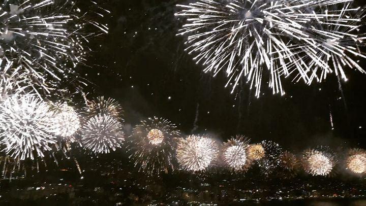 Lebanon Jounieh fireworks festival ... (Jounieh International Festival)