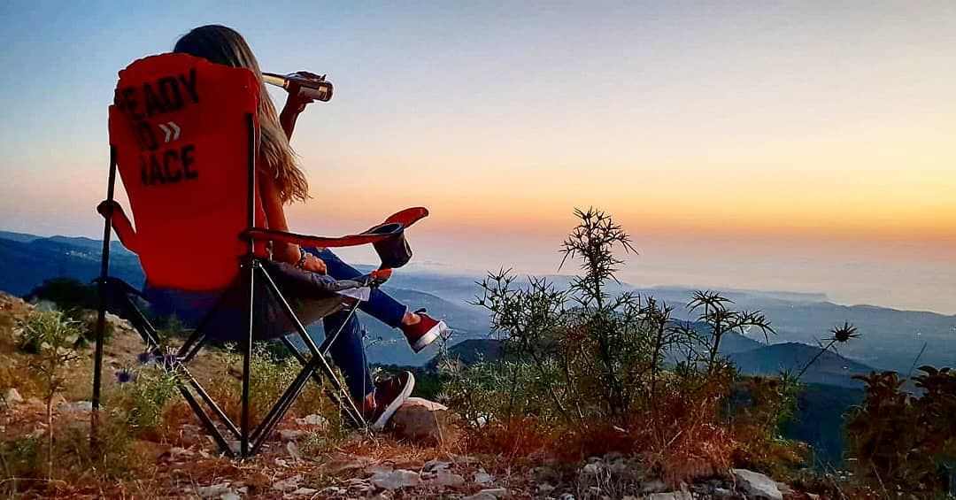 Every sunset brings the promise for a new dawn💭 sunset newdawn ... (Horsh Ehden)