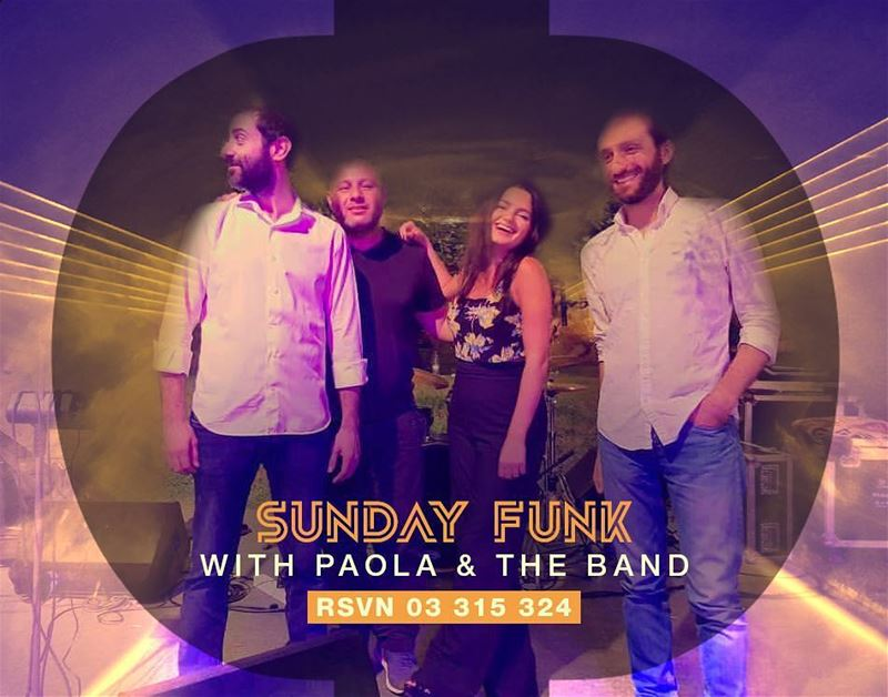 Up to some Funk ?Join Paola and the band this Sunday at JackieO Rooftop... (Jackieo)