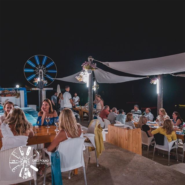 Those night talks while enjoying delicious food and ambiance --... (Anfeh Al-Koura أنفه الكورة)